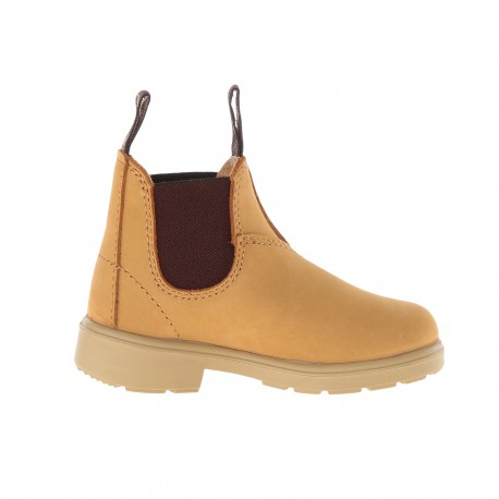 Kids Chelsea Boots 1411 Wheat Leather