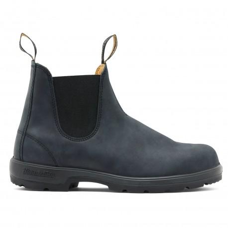 Classic Chelsea Boots Adulte 587 Rustic Black